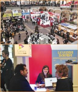 Film Market-Messe auf der Berlinale: Die La Palma Film Commission war da und knüpfte neue Kontakte für noch mehr audiovisuelle Projekte auf der Insel.