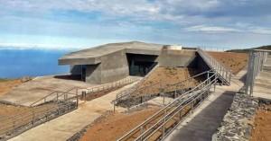 Das Gebäude des Besucherzentrums auf dem Roque de Los Muchachos ist fertig: