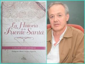 Carlos Soler: Sein Buch La Historia de la Fuente Santa ist inzwischen das meistverkaufte auf den Kanaren. Foto: Cabildo GC
