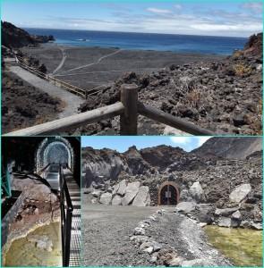 Die Playa Echentive: Bis hier flogen Steine und floss Lava beim Ausbruch des San Antonio 1677 und schufen so neues Land. Allerdings wurde dabei die Fuente Santa verschüttet und erst 2005 wiederentdeckt. Fotos: La Palma 24/Cabildo