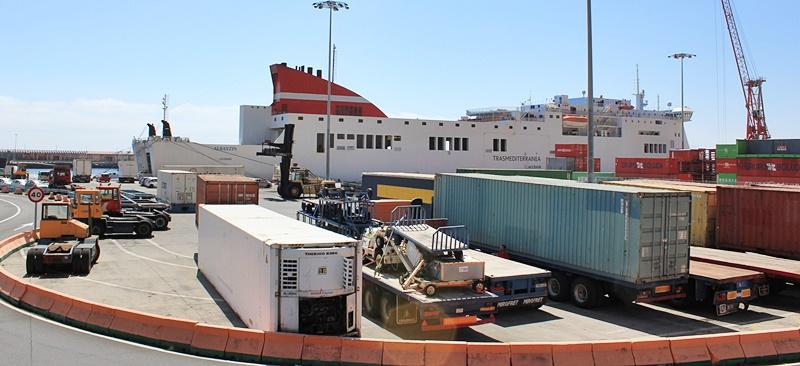 Frachthafen von Santa Cruz: 2018 alles im Plus.
