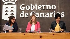 Nieves Lady Barreto (Bildmitte): Die Ministerin präsentierte den