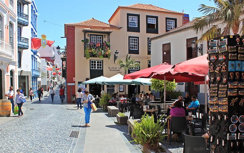Einkaufen auf La Palma
