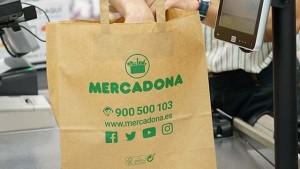 Mercadona: ab April 2019 heißt es adios plastico! Foto: Supermarktkette