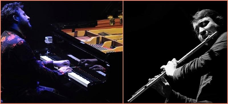 Special guests beim Konzert in El Paso: Moises Toscano und Juan Pérez spielen mit Alexander Sputh und Pedro Sanz. Fotos: Pablo Espantaleón