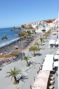 Von Puerto Naos Richtung Charco Verde: Bewegung zur Genehmigung von mehr Betten im Gang. Foto: La Palma 24