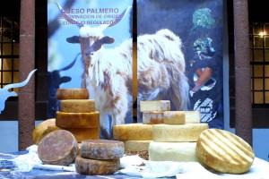 Lecker: palmerischer Käse von glücklichen Ziegen.