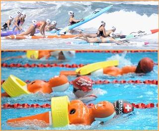 Meisterschaften der Rettungsschwimmer: Es gibt viele Disziplinen, und der kanarische Verband will, dass sich auf allen Inseln Clubs bilden.