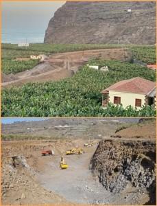 Tazacorte: Der Bau der Umgehungsstraße zum Hafen liegt im Plan.