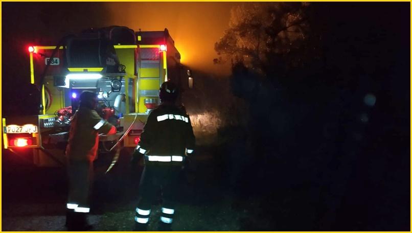 Waldbrand in Garafía: Die Freiwillige Feuerwehr von La Palma