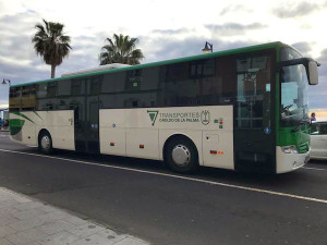 Busfahren auf La Palma: