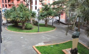 Die Plaza José Mata in Santa Cruz: