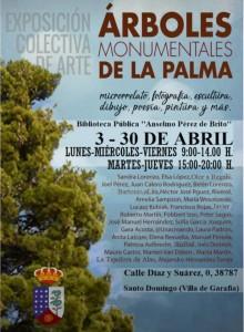 Viele KünstlerInnen sind dabei: Baumschau in Garafía.