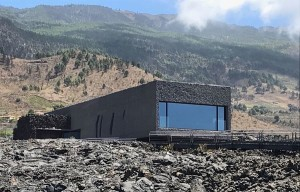 Besucherzentrum an der Taubenhöhle in Las Manchas: bald gehen die Türen auf. Foto: Cabildo