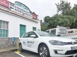 IGIC-Befreiung für Elektrofahrzeuge: Auf La Palma haben schon vor dieser Steuererleichterung Leute wie der Besitzer des Chipi-Chipi auf die Stromflitzer gesetzt.