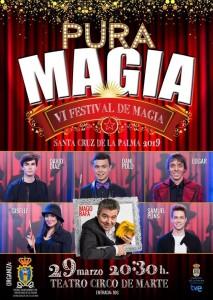 Magie in Santa Cruz: Tolle Zauberer im Teatro Circo de Marte.