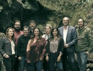 Set von The Witcher: eine Delegation der La Palma Film Commission mit Inselpräsident Anselmo Pestana und Inseltourismusrätin Alicia Vanoostende war vor Ort. Foto: Cabildo