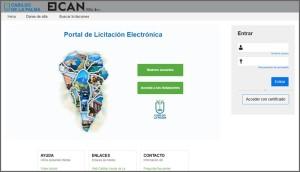 Neu: Cabildo-Plattform für Ausschreibungen.
