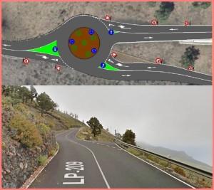 Fuencaliente: noch ein Kreisverkehr!
