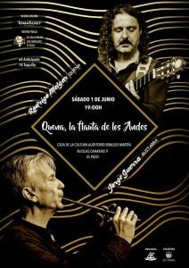 Flöte und Gitarre: El Paso, Casa de la Cultura.