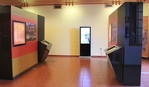 Theorie: Besucherzentrum San Antonio: Innen gibt´s Infos über Vulkanismus und Erdbeben.