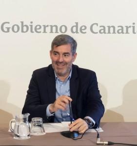 Kanarenpräsident Fernando Clavijo Batlle: präsentierte eine neue Studie über die Situation der Unternehmen auf den Inseln. Foto: GobCan