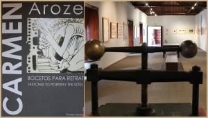 Carmen Arozena-Preis: Die Siegerwerke der vergangenen 46 Jahre sind im Inselmuseum ausgestellt. Foto: La Palma 24