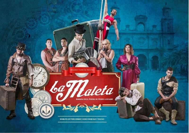 La Maleta – der Koffer – ist eine Reflexion über Emigration in der Welt, zu der die Menschen gezwungen werden. Das Stück um die Suche nach Freiheit wird am Freitag, 26. April 2019, um 20 Uhr auf der Plaza de España in Los Llanos vom Teatro KDO präsentiert.