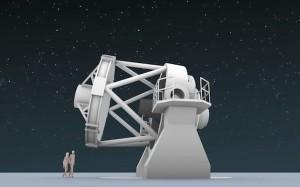 Das New Robotic Telescope: soll ab 2024 auf dem Roque de Los Muchachos arbeiten. Foto: NRT-Technik