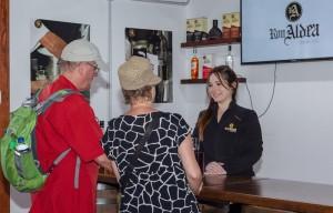 Es gibt geführte Touren durchs Rummuseum. Zeiten immer aktuell auf der Internetseite abfragen.