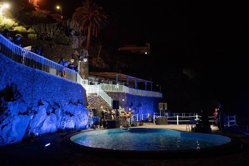In San Andrés spielte in der Sternennacht die Musik...
