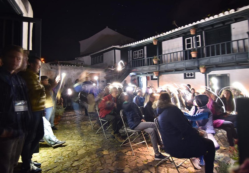 In Puntallana trafen sich Astro-Fans in der Casa Luján in Sachen Stars Island La Palma.