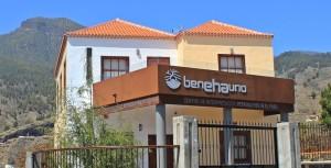 Das Besucherzentrum in El Paso: Soll demnächst eröffnet werden. Foto: La Palma 24