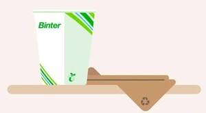 Lob für Binter: schafft die Plastikbecher ab - das könnten auch andere machen.
