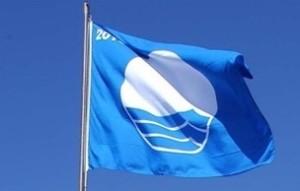 Blaue Flagge: Zeichen für saubere Strände.