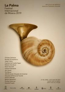 Das Plakat 2019: Symbol für die Verbundenheit von La Palma mit der Musik.