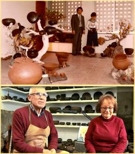 Ramon und Vina gestern und heute in ihrer Keramik-Werkstatt in Mazo: Die Filme von Helmut Schilling erzählen vom Leben und Schaffen des Kunsthandwerker-Ehepaars.