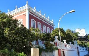 Rotes Museum Casa Roja in Mazo: Hier finden die Café-Konzerte statt. Foto: La Palma 24