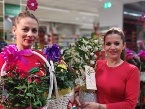 Muttertag in Spanien: In allen Geschäften grünt und blüht es. Foto: Spar