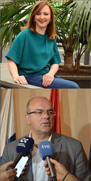 Anselmo Pestana musste sich - wenn auch knapp - geschlagen werden: Der Inselpräsident von der PSOE unterlag der Herausforderin Nieves Lady Barreto (CC) denkbar knapp.