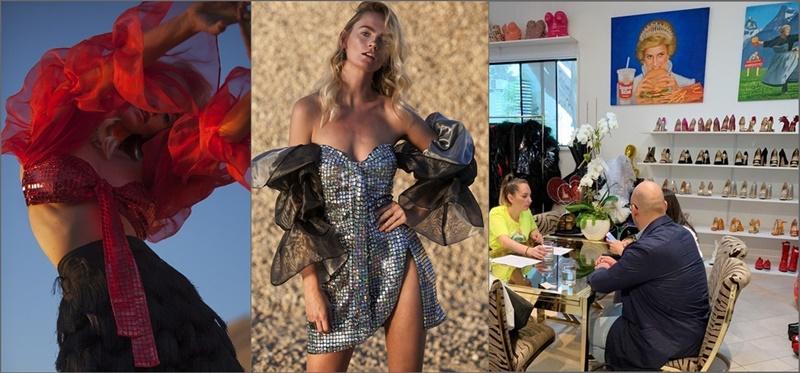 """Das Label Isla Bonita Moda hat eine Vereinbarung mit dem Showroom der amerikanischen Prominenten The Residency Experience in Los Angeles getroffen. Damit gelang es den MacherInnen dieses Programms zur Förderung, Entwicklung und Professionalisierung des Kreativ- und Textilsektors von La Palma, die neue Kollektion der palmerischen Designerin Paloma Suárez auf dem amerikanischen Markt zu positionieren. """"Dies ist zweifellos die größte Chance, die ich je in meinem Leben hatte"""", so die Modemacherin. """"Ohne die Hilfe von Isla Bonita Moda sowie der Inselregierung wäre es äußerst schwierig gewesen, diese Aktion in kurzer Zeit zu entwickeln."""" The Residency Experience ist der Platz, an dem Prominente wie beispielsweise Beyonce, Kendal Jenner, Kesha, Madonna oder Katy Parry Kleidung für Events, Präsentationen und Moderedaktionen auswählen und so diese Marken bei Millionen von Menschen auf der ganzen Welt bekannt machen."""