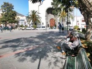 Die beschauliche Plaza Montserrat: oft auch Schauplatz von Musik und Unterhaltung.