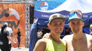 Der Italiener Daniel Jung hatte bei der TRV 2019