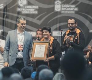 Das heißersehte Zertifikat ist da: Die Transvulcania ist jetzt offiziell ein nachhaltiges Sportevent. Foto: Cabildo