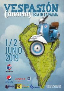 Leidenschaft für die Vespa: tritt am Wochenende auf La Palma geballt zutage.