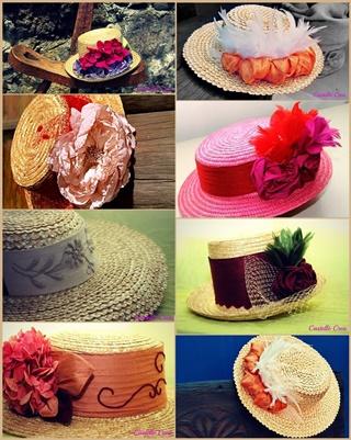 So kreativ designt Nieves Castelló ihre Sombreros: Hüte nicht nur für palmerische Trachten-Fiestas. Fotos: Fernando Rodríguez