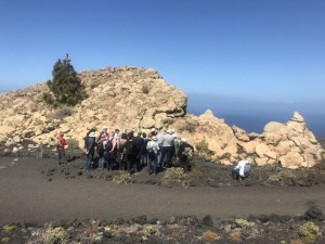 Der Roque de Teneguía im Süden der Insel: Die Petroglyphen in diesem Bereich