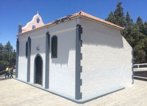 Die Virgen del Pino-Kirche in El Paso: wieder wie neu.