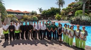 Das Team der Hacienda San Jorge kann stolz sein: Immer wieder gibt es Preise aufgrund von Gäste-Bewertungen. Foto: Hotel