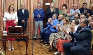 Nieves Lady Barreto: Am Montag wurde sie offiziell in ihr Amt als Präsidentin des Cabildos von La Palma eingesetzt.
